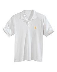 Jacamo Embroidered Polo Extra Long