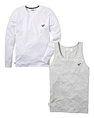 Voi Pack of 2 Vest/T-shirt