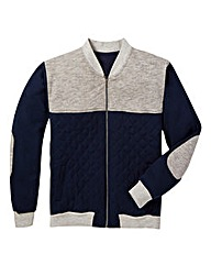 Label J Sweat Baseball Jacket Reg