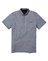Black Label Reggie Polo Shirt L