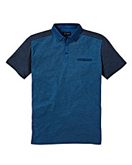 Black Label By Jacamo Verge Polo Shirt R