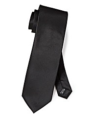 Black Label By Jacamo Texture Tie