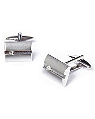 Black Label Square Cufflinks