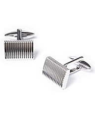 Black Label By Jacamo Rib Cufflinks
