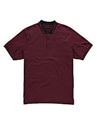 Label J Riom Marl Polo Regular