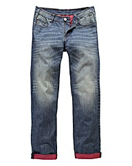 UNION BLUES Florida Turn Up Jeans 29 In