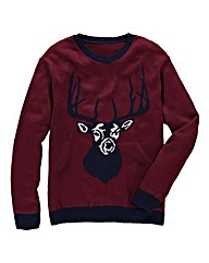 Label J Stag Knit Jumper