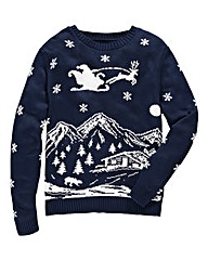 Label J Starry Night Knit Jumper