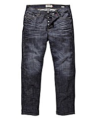 Lambretta Dark Wash Jean 31in Leg