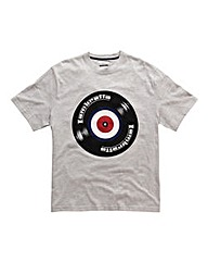 Lambretta Record Logo T-Shirt Regular