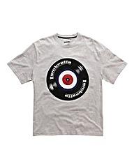 Lambretta Record Logo T-Shirt Regular