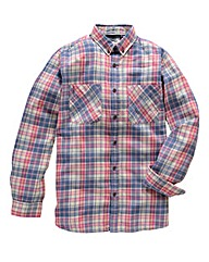 Jacamo Juno Long Sleeve Check Shirt Long