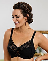 Miss Mary Stylish Non Wired Black Bra