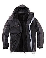 Snowdonia Black 3 in 1 Jacket