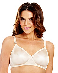 4 Pack Full Cup Non Wired Assorted Bras
