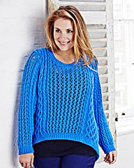 Jeffrey & Paula Cable Crop Jumper