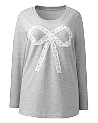 Angel Ribbons Rochelle Bow Trim Top