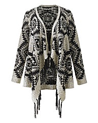 Angel Ribbons Kierra Waterfall Cardigan