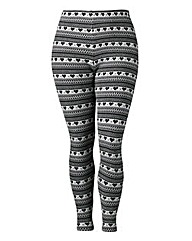 Angel Ribbons Fair Isle Leggings