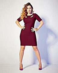 Kelly Brook Cut Out Detail Dress