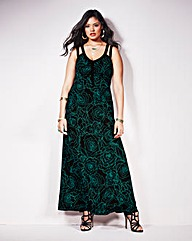 Anna Scholz Print Maxi Dress
