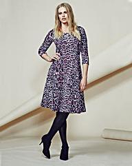 Look Animal Print Skater Dress