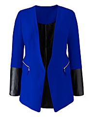 Grazia PU Trim Jacket