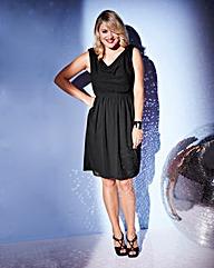 Lovedrobe Bead Shoulder Skater Dress