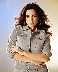 Kelly Brook Denim Stretch Jacket