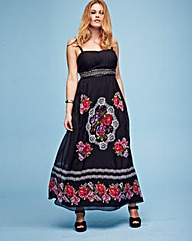 Lovedrobe Floral Print Maxi Dress-L54