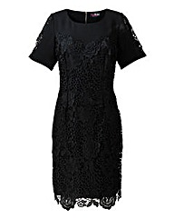 Lovedrobe Lace Trim Dress