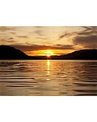 Arthouse Sunset Lake Canvas