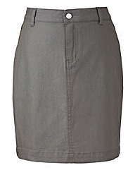 Wax Effect Pencil Skirt