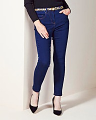 Lucy High Waisted Skinny Jeans Long