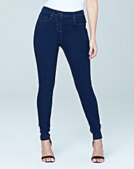 Lucy High Waist Skinny Jeans Long
