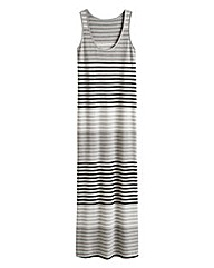 Stripe Sleeveless Maxi Dress - Regular