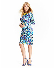 Digital Print Bodycon Dress
