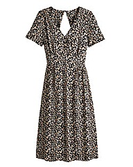 Ditsy Print Tea Dress - Regular