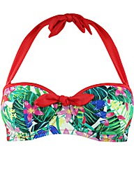 Pour Moi Jungle Fever Padded Top