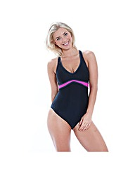 Zoggs Deco Tribe Crossback Swimsuit
