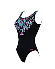 Zoggs Class Diva Scoopback Swimsuit
