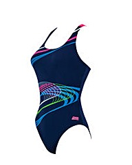 Zoggs Echo Actionback Swimsuit