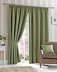Plain Dye Woven Blackout Curtains