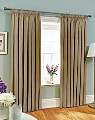Fully Lined Jacquard Curtains