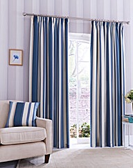 Printed Stripe Curtain