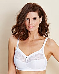 Berlei Heaven Embroidered White Bra