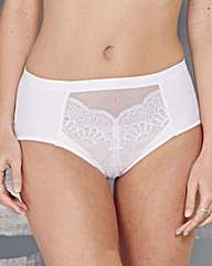 Berlei Beauty Style White Midi Brief