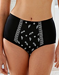 Miss Mary Embroidered Brief