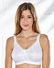 Miss Mary Moulded Minimiser White Bra