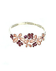 Flower Enamel Bracelet